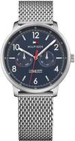 Tommy Hilfiger Will Blue Multi Dial Stainless Steel Mesh Bracelet Ladies Watch
