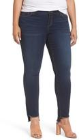 Plus Size Women's Slink Jeans Step Hem Skinny Jeans