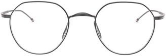 Thom Browne Eyewear Thom Browne Geometric Frame Glasses