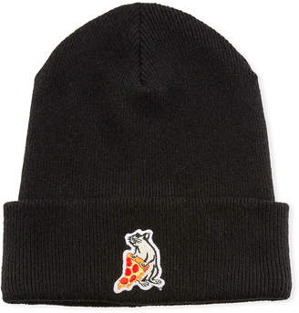 Rag & Bone Men's Pizza Rat Patch Beanie Hat