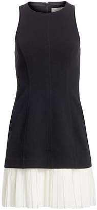 Cinq à Sept Catriona Pleat Hem Sheath Dress