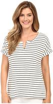 Calvin Klein Jeans Stripe Short Sleeve Henley