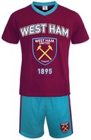 West Ham United FC Official Soccer Gift Mens Loungewear Short Pajamas