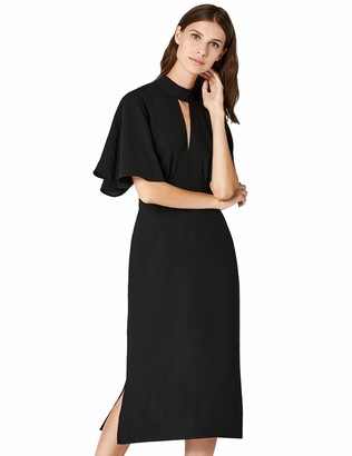 Private Label Amazon Brand - TRUTH & FABLE Women's Dress Midi Keyhole