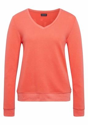Chiemsee Women's V-Ausschnitt und Love-Print Sweatshirt