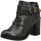 New Look Crowded Lea Chain Western, Women's Biker Boots,(37 EU)