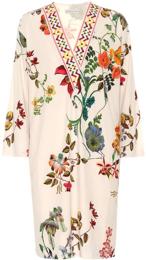 Etro Floral-printed dress
