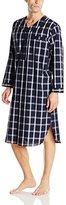 Majestic International Men's Woven Cotton Nightshirt