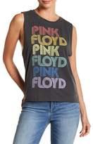 Lucky Brand Distressed Pink Floyd Tank