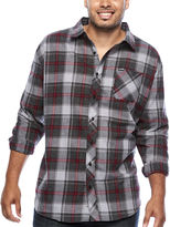Zoo York Long-Sleeve Woven Plaid Shirt - Big & Tall