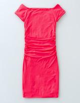 Boden Off Shoulder Ruched Dress