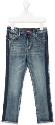 Billieblush Frayed-Hem Jeans