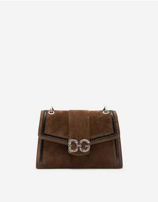 Dolce & Gabbana Amore Bag In Mixed Materials