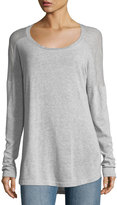 Allen Allen Long-Sleeve Swing-Back Tunic