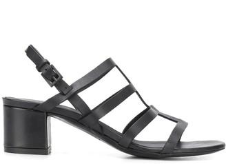 Del Carlo Multiple Strap 55mm Sandals