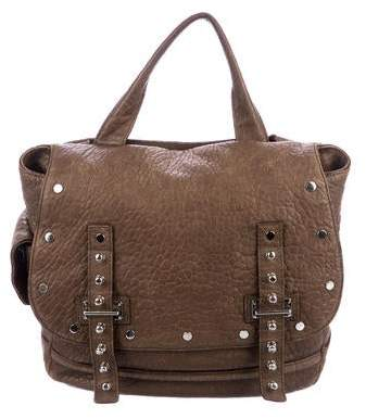 Rebecca Minkoff Grained-Leather Satchel