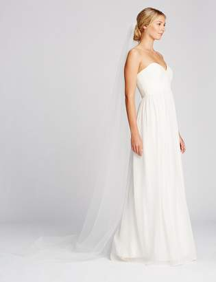 Twigs & Honey Women's Simple Cathedral Bridal Veil Train