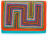 Mola Sasa Tutsowale Embroidered Clutch Bag, Multi
