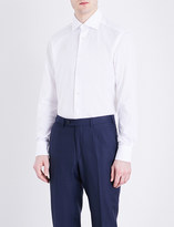 Ermenegildo Zegna Jimmy diamond-print regular-fit cotton shirt