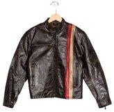 Belstaff Boys' Paneled Biker Jacket