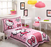Hello Kitty Sweetheart 4 Piece Toddler Bedding Set