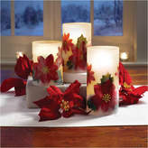 APOTHECARY Apothecary Led Poinsetta 3-pc. Flameless Candle
