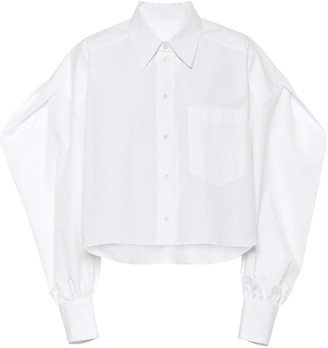 Valentino Cotton-poplin blouse