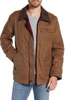 Schott NYC Waxed Cotton Field Jacket