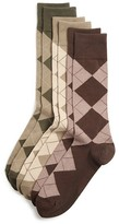 Polo Ralph Lauren Argyle Dress Socks, Pack of 3