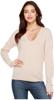 Equipment Elaine V-Neck U10-S239 Women's Long Sleeve Pullover