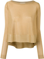 Antonio Berardi metallic jumper