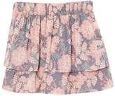 NECK & NECK Floral Gathered Skirt