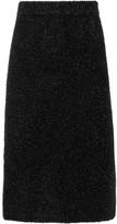 Calvin Klein Collection Lurex Midi Skirt - Black