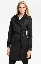 Ellen Tracy Water Repellent Trench Coat (Online Only)