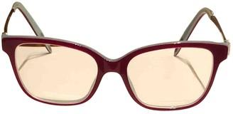 Tiffany & Co. Red Metal Sunglasses