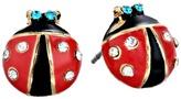 Betsey Johnson Ladybug Studs Earring