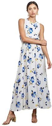 Rachel Pally Plus Size Crepe Mirabelle Dress (Pansy) Women's Clothing