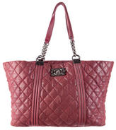 Chanel Boy Gentle Shopping Tote