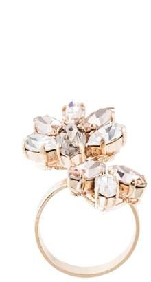 Anton Heunis floral embellished ring