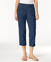 Style&Co. Style & Co. Cropped Cargo Pants, Only at Macy's