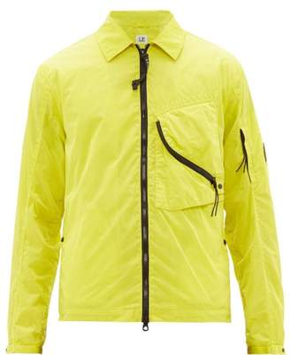 C.P. Company Fluorescent Technical Overshirt - Mens - Green