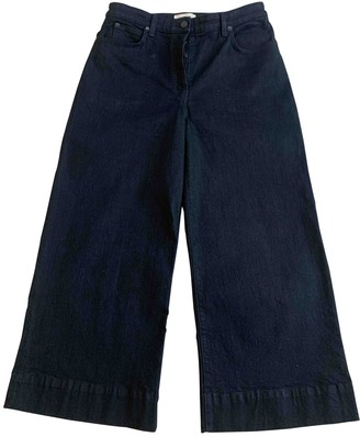 The Row Black Cotton Jeans for Women