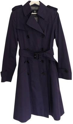Aquascutum London Purple Coat for Women