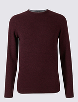 M&S Collection Merino Wool Rich Crew Neck Jumper