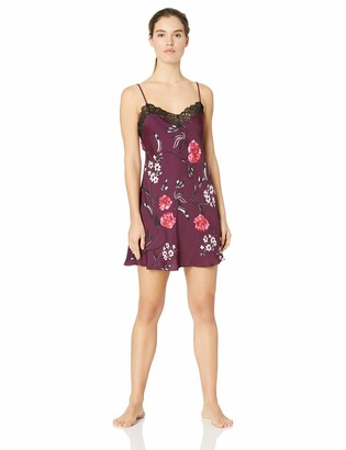 Josie Natori Josie by Natori Women's Washed Satin Chemise