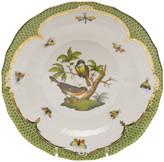 Herend Rothschild Bird Green Motif 02 Dessert Plate