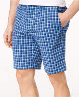 """Tommy Bahama Men's Check Your Swing Classic-Fit Stretch Windowpane 10"""" Shorts"""