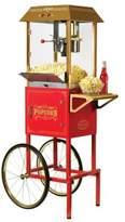 Nostalgia Electrics NostalgiaTM Electrics Vintage CollectionTM 59-Inch 10 oz. Kettle Popcorn Cart in Red