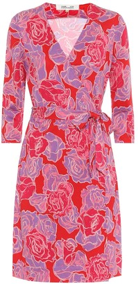 Diane von Furstenberg Exclusive to Mytheresa a New Julian silk wrap dress