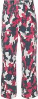 Tommy Jeans camouflage print straight-leg jeans